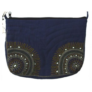 Indigo Blue Day Bag