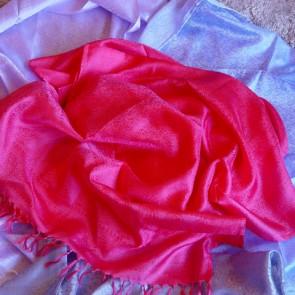Monalisa Pink Silk Scarf