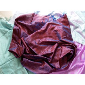 Ruby N Sapphire Silk Scarf