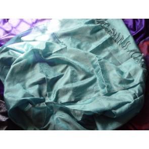 Aquamarine Silk Scarf