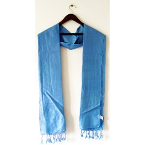Afternoon Sky Silk Scarf