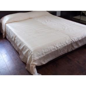Gold Silk Bedspread