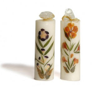 "Scented Candles Cylindrical 5.51"" High"