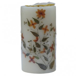 "Scented Candles Cylindrical Pillar 6.1"" High"
