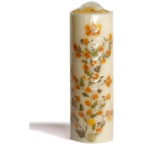 "Scented Candles Cylindrical Pillar 12.1"" High"