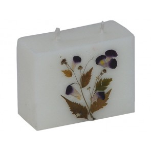 Scented Candles Rectangular Two Wick