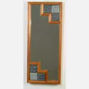 Decorative Ceramic Tile Wall Mirror