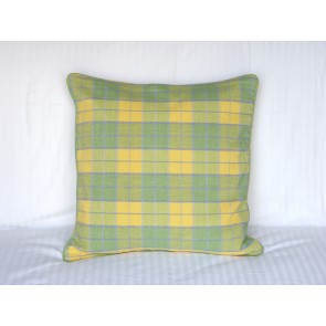 Pale green and Yellow Throw Pillows
