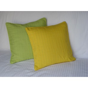 Yellow and Green Throw Pillows