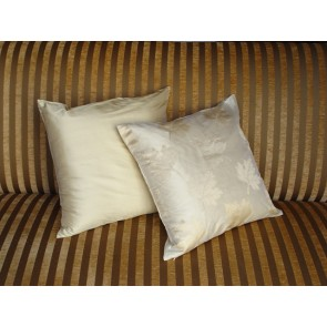 Ivory and Gold  Throw Pillows