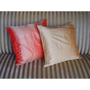Red and Gold Throw Pillows