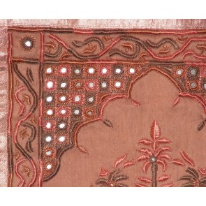 Brown Silk Wall Hanging