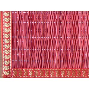 Red River Grass Place Mat with Zari