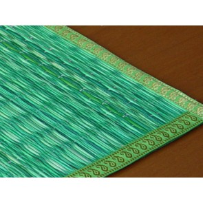 Green River Grass Place Mat with Zari
