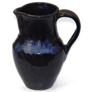 Blue Ceramic Water Jug