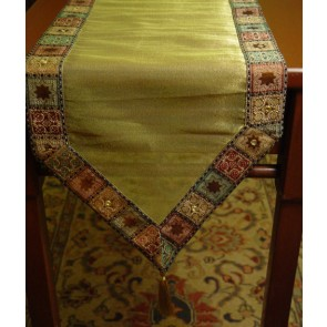 Multi-color Table Runner