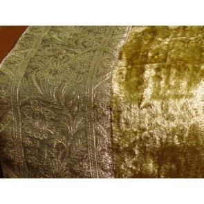 Golden Velvet Table Runner