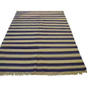 Summer Stripe Durrie Rug
