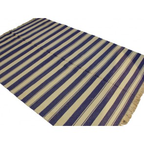 Summer Stripe Dhurrie Rug