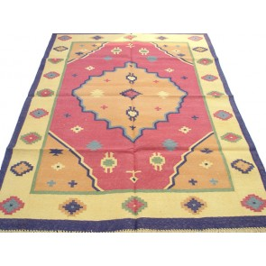 Stars Dhurrie Rug