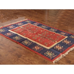 Tree of Life Dhurrie Rug