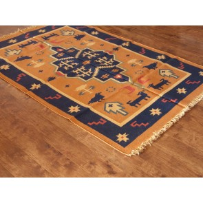 Evening Birds Dhurrie Rug