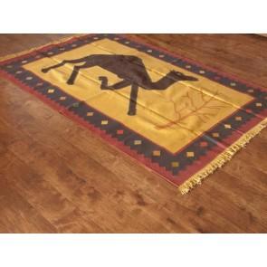 Dancing Camel Durrie Rug