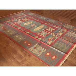 Winter Radiance Dhurrie Rug